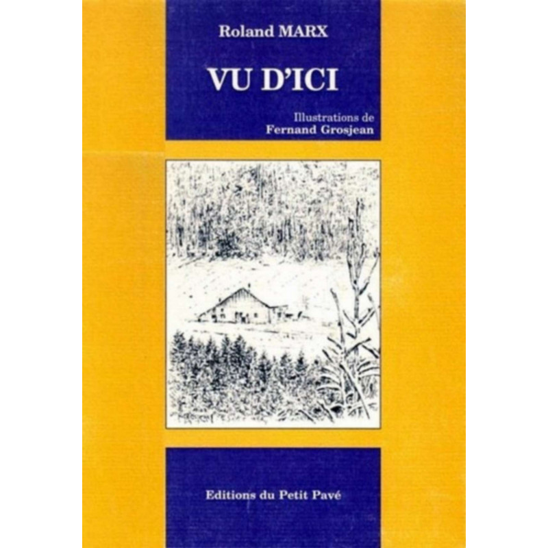 VU D'ICI ROLAND MARX Librairie Automobile SPE 9782847120776