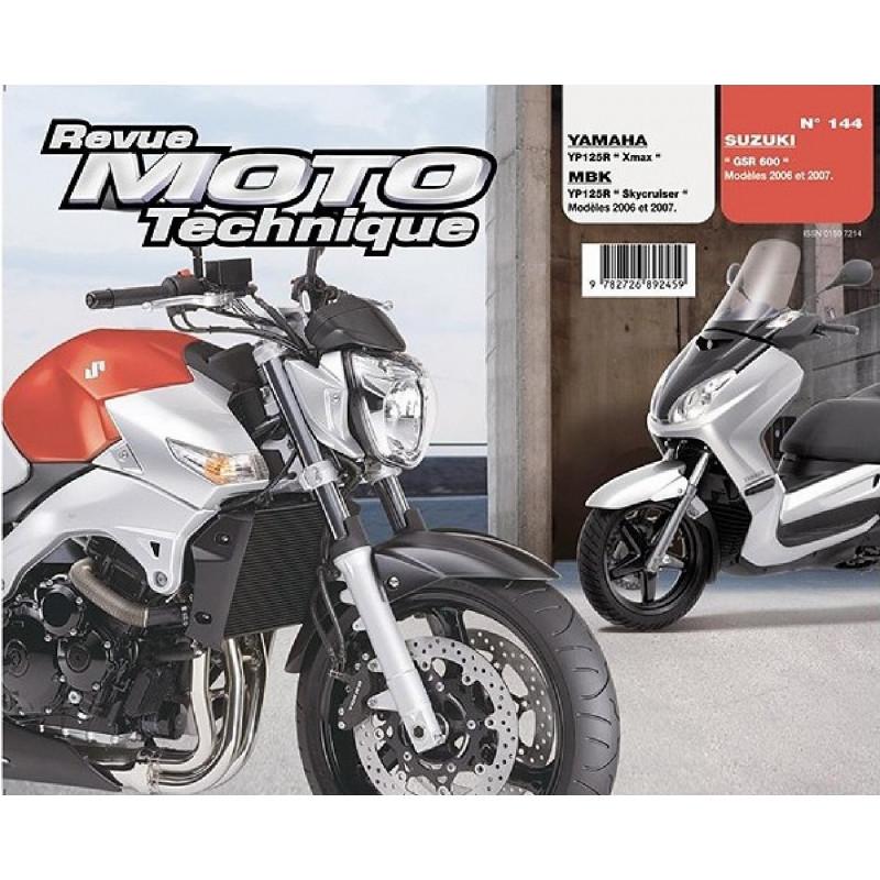 REVUE MOTO TECHNIQUE SUZUKI GSR 600 de 2006 et 2007 - RMT 144 Librairie Automobile SPE 9782726892459