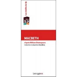 MACBETH de William SHAKESPEARE (1564 - 1616) Librairie Automobile SPE 9782369440079