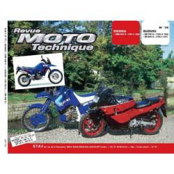 REVUE MOTO TECHNIQUE SUZUKI DR 750 et 850 de 1988 à 1997 - RMT 75 Librairie Automobile SPE 9782726891025