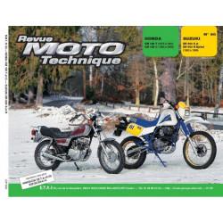 REVUE MOTO TECHNIQUE SUZUKI DR 600 DJEBEL de 1985 à 1988 - RMT 60 Librairie Automobile SPE 9782726891230