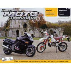REVUE MOTO TECHNIQUE KAWASAKI ZZ-R 110 de 1990 à 2001 - RMT 84 Librairie Automobile SPE 9782726891261
