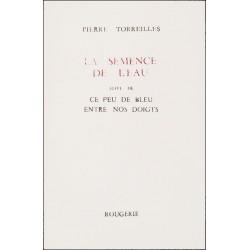 LA SEMENCE DE L'EAU de PIERRE TORREILLES Librairie Automobile SPE 9782856680322