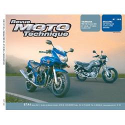 REVUE MOTO TECHNIQUE HONDA GSF 650 de 2005 et 2006 - RMT 139 Librairie Automobile SPE 9782726892404