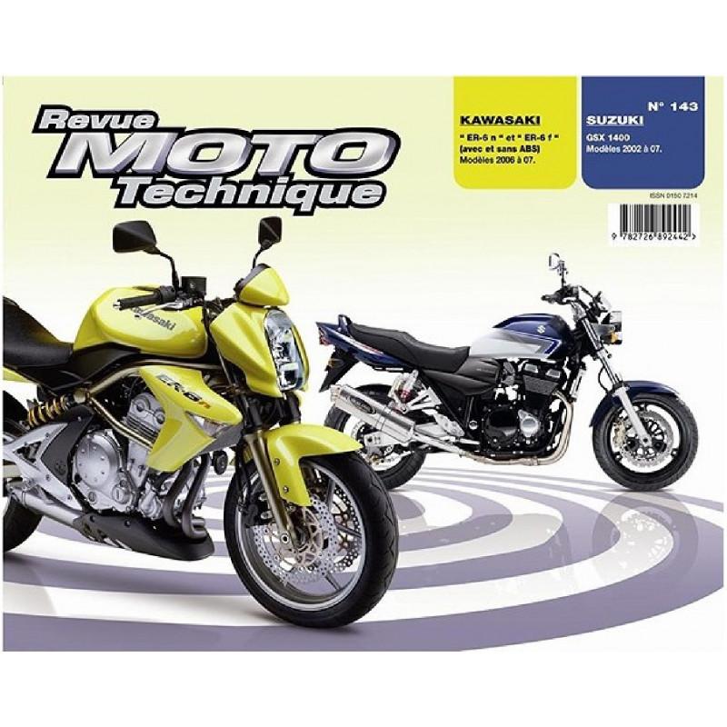 REVUE MOTO TECHNIQUE SUZUKI GSX 1400 de 2002 à 2007 - RMT 143 Librairie Automobile SPE 9782726892442