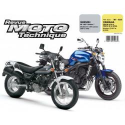 REVUE MOTO TECHNIQUE YAMAHA FZ6 de 2007 à 2008 - RMT 151 Librairie Automobile SPE 9782726892527