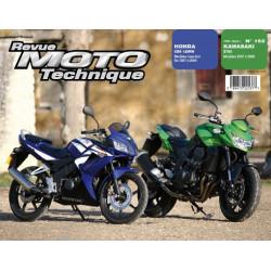 REVUE MOTO TECHNIQUE KAWASAKI Z750 de 2007 à 2009 - RMT 152 Librairie Automobile SPE 9782726892534