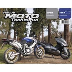 REVUE MOTO TECHNIQUE HONDA XL 700 de 2008 et 2009 - RMT 153 Librairie Automobile SPE 9782726892541
