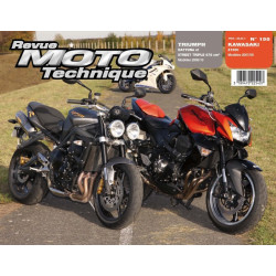 REVUE MOTO TECHNIQUE KAWASAKI Z1000 de 2007 à 2009 - RMT 155 Librairie Automobile SPE 9782726892565
