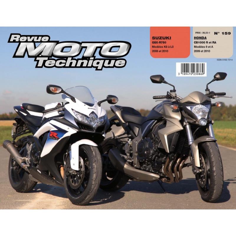 REVUE MOTO TECHNIQUE HONDA CB 1000 de 2009 et 2010 - RMT 159 Librairie Automobile SPE 9782726892602