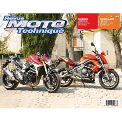 REVUE MOTO TECHNIQUE KAWASAKI ER-6 de 2009 à 2011 - RMT 165 Librairie Automobile SPE 9782726892664