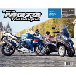 REVUE MOTO TECHNIQUE PIAGGIO MP3 500 de 2011 et 2012 - RMT 167 Librairie Automobile SPE 9782726892688