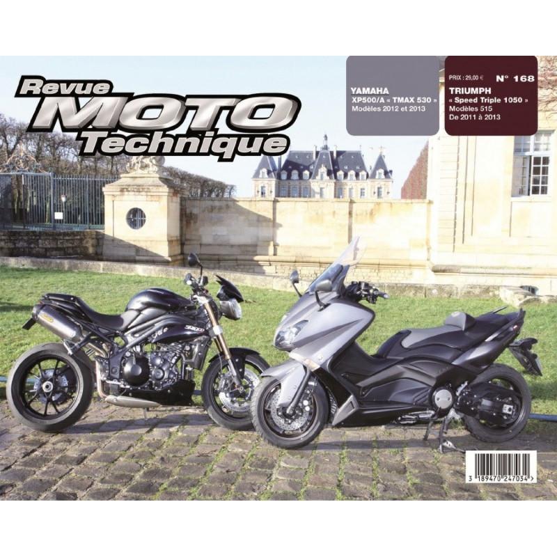 REVUE MOTO TECHNIQUE TRIUMPH SPEED TRIPLE 1050 de 2011 à 2013 - RMT 168 Librairie Automobile SPE 9782726892695
