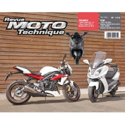 REVUE MOTO TECHNIQUE SYM EVO et EFI 125 GTS de 2010 à 2012 - RMT 173 Librairie Automobile SPE 9782726892749