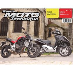 REVUE MOTO TECHNIQUE YAMAHA MT07 de 2014 et 2015 - RMT 175 Librairie Automobile SPE 9782726892763