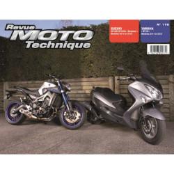 REVUE MOTO TECHNIQUE YAMAHA MT09 de 2014 et 2015 - RMT 176 Librairie Automobile SPE 9782726892770