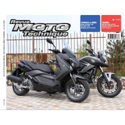 REVUE MOTO TECHNIQUE YAMAHA XMAX 125 de 2014 et 2015 - RMT 177 Librairie Automobile SPE 9782726892787