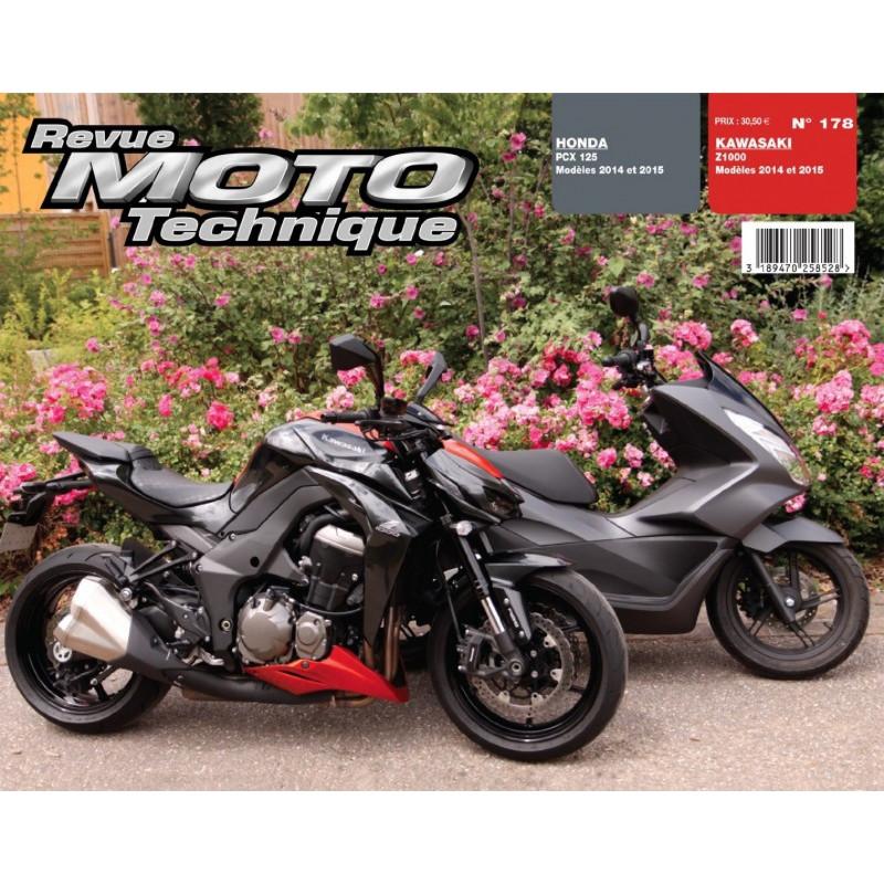 REVUE MOTO TECHNIQUE HONDA PCX 125 de 2014 et 2015 - RMT 178 Librairie Automobile SPE 9782726892794