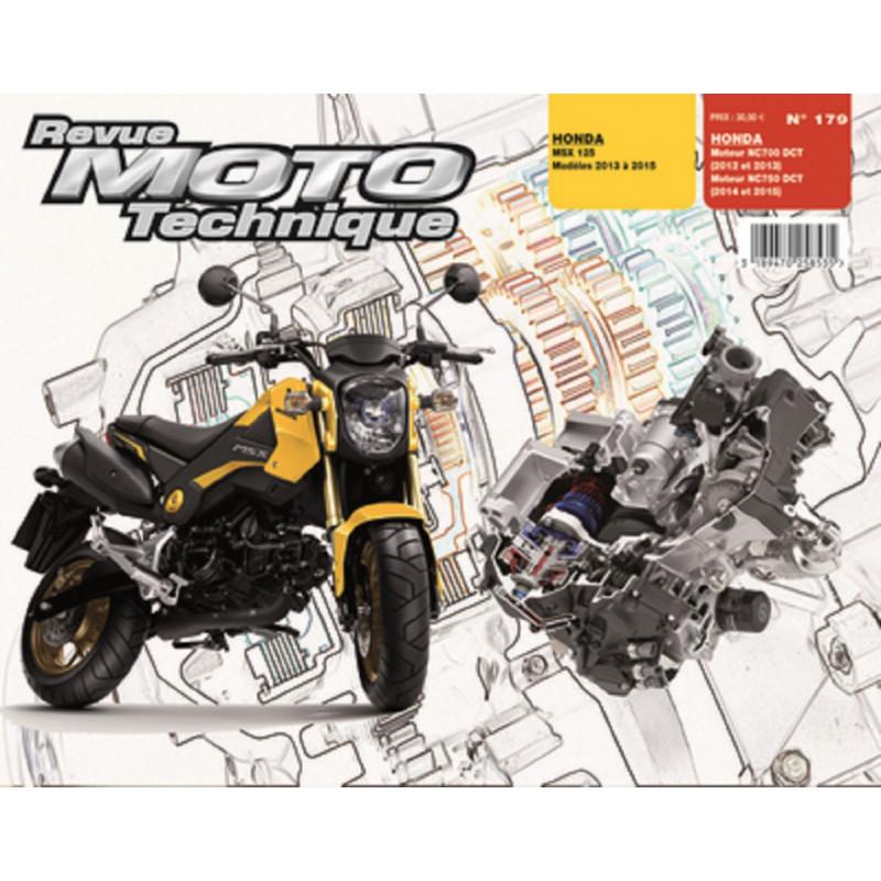 REVUE MOTO TECHNIQUE HONDA MOTEUR 700 et 750 de 2012 à 2015 - RMT 179 Librairie Automobile SPE 9782726892800