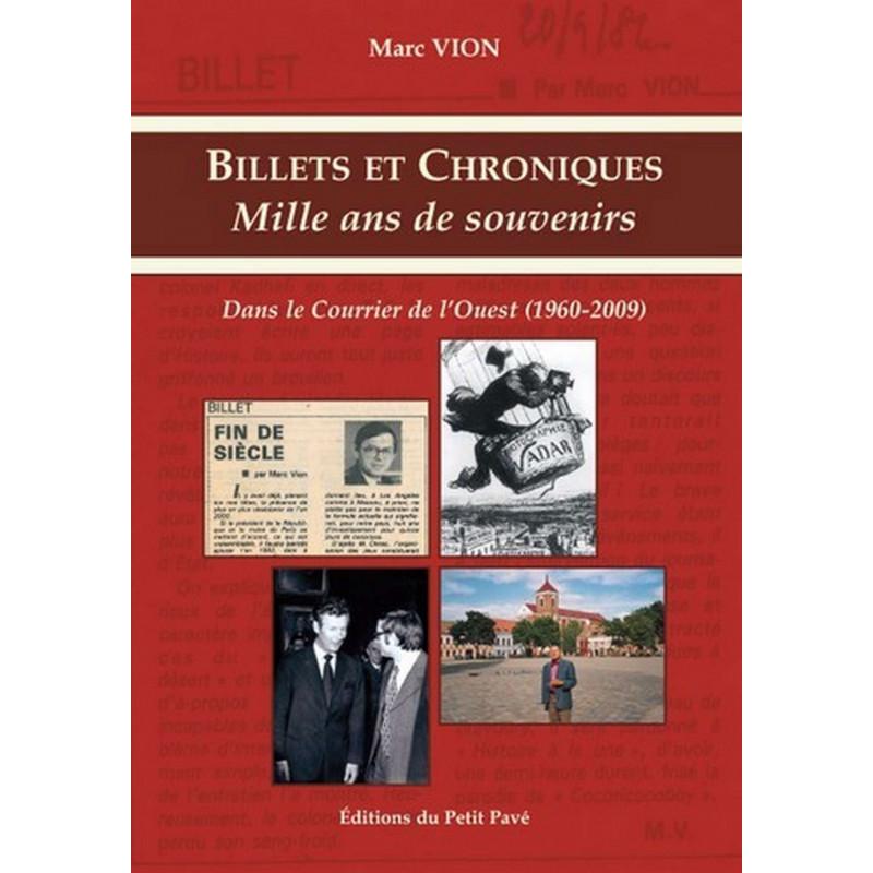 BILLETS ET CHRONIQUES MILLE ANS DE SOUVENIRS Librairie Automobile SPE 9782847123586