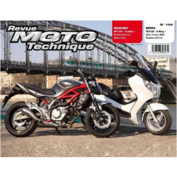 REVUE MOTO TECHNIQUE SUZUKI SFV 600 de 2009 et 2010 - RMT 156 Librairie Automobile SPE 9782726892572
