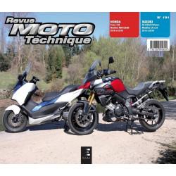 REVUE MOTO TECHNIQUE SUZUKI V-STROM 1000 de 2014 à 2016 - RMT 181 Librairie Automobile SPE 9782726892824