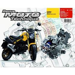 REVUE MOTO TECHNIQUE HONDA 125 MSX de 2013 à 2015 - RMT 179 Librairie Automobile SPE 9782726892800