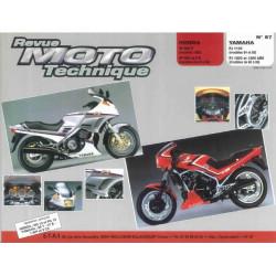 REVUE MOTO TECHNIQUE HONDA VF 400 (83) et 500 de 84 à 86 - RMT 57 Librairie Automobile SPE 9782726890516