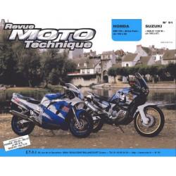 REVUE MOTO TECHNIQUE HONDA XRV 750 AFRICA TWIN de 1990 à 1996 - RMT 91 Librairie Automobile SPE 9782726890851