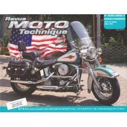 REVUE MOTO TECHNIQUE HARLEY-DAVIDSON SOFTAIL 1340 de 1986 à 1994 - RMT HS08