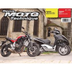 REVUE MOTO TECHNIQUE PIAGGIO MP3 300 de 2012 à 2014 - RMT 175 Librairie Automobile SPE 9782726892763