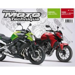 REVUE MOTO TECHNIQUE HONDA CB 500 et CBR 500 de 2013 et 2014 - RMT 172 Librairie Automobile SPE 9782726892732