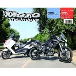 REVUE MOTO TECHNIQUE PEUGEOT SATELIS 125 de 2012 et 2013 - RMT 170 Librairie Automobile SPE 9782726892718