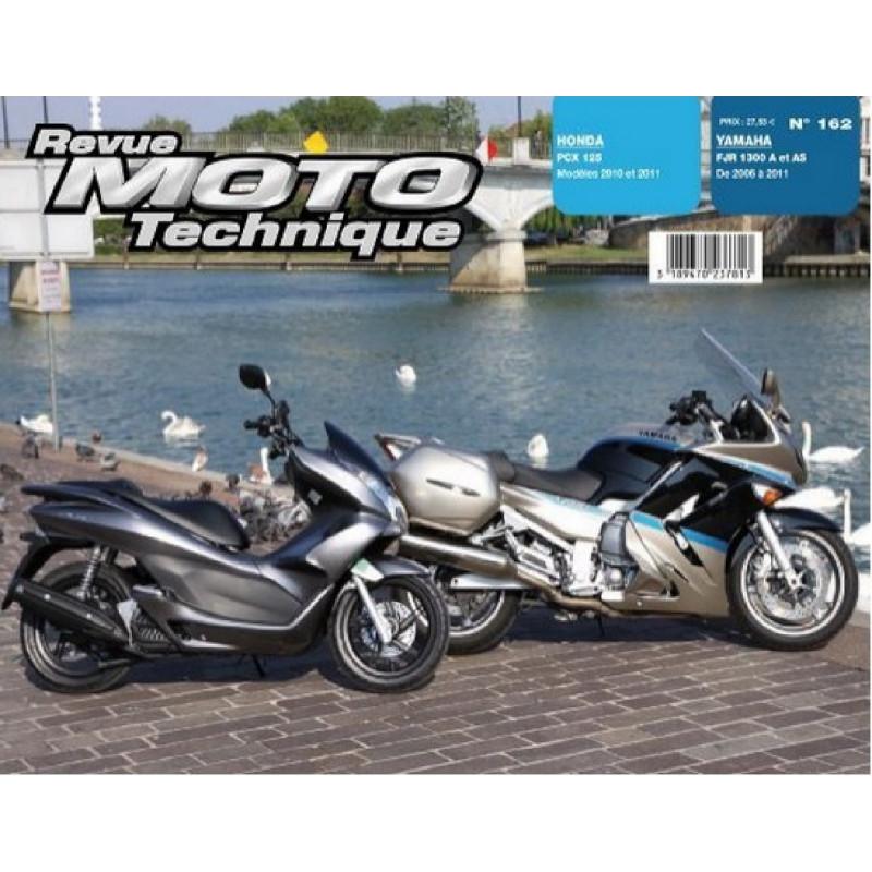REVUE MOTO TECHNIQUE HONDA PCX 125 de 2010 et 2011 - RMT 162 Librairie Automobile SPE 9782726892633