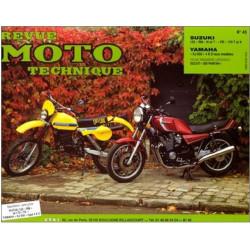 REVUE MOTO TECHNIQUE SUZUKI RM 125 et PE 175 de 1979 à 1983 - RMT 43 Librairie Automobile SPE 9782726890370