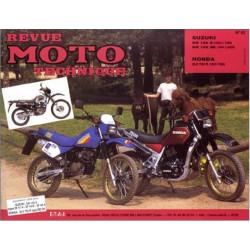 REVUE MOTO TECHNIQUE SUZUKI DR 125 de 1983 à 1986 - RMT 62 Librairie Automobile SPE 9782726890561