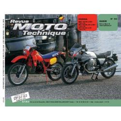 REVUE MOTO TECHNIQUE HONDA MBX et MTX 125 / 200 de 1983 à 1986 - RMT 53 Librairie Automobile SPE 9782726890479