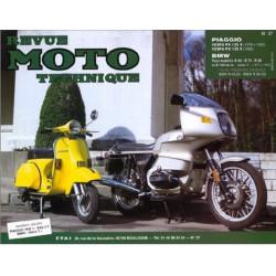 REVUE MOTO TECHNIQUE PIAGGIO VESPA 125 de 1978 à 1993 - RMT 37 Librairie Automobile SPE 9782726891193