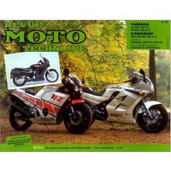 REVUE MOTO TECHNIQUE YAMAHA XJ et FZ 600 de 1984 à 1991 - RMT 67 Librairie Automobile SPE 9782726890868