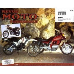 REVUE MOTO TECHNIQUE YAMAHA XT 125 de 1982 à 1994 - RMT 55 Librairie Automobile SPE 9782726891148
