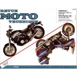 REVUE MOTO TECHNIQUE YAMAHA V-MAX de 1986 à 1990 - RMT 78 Librairie Automobile SPE 9782726890721