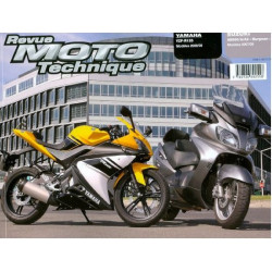 REVUE MOTO TECHNIQUE YAMAHA YZF 125 de 2008 et 2009- RMT 154 Librairie Automobile SPE 9782726892558