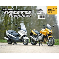 REVUE MOTO TECHNIQUE SUZUKI BURGMAN 125 de 2007 et 2008 - RMT 149 Librairie Automobile SPE 9782726892503