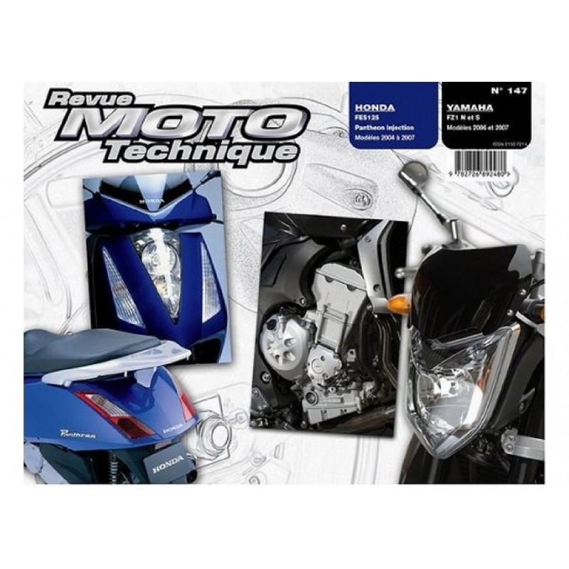 REVUE MOTO TECHNIQUE HONDA 125 FES de 2004 à 2007 - RMT 147 Librairie Automobile SPE 9782726892480