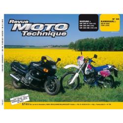 REVUE MOTO TECHNIQUE SUZUKI DR 350 de 1990 à 1999 - RMT 86 Librairie Automobile SPE 9782726890806