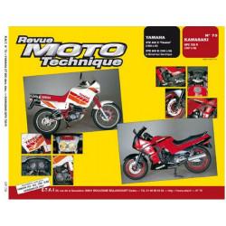REVUE MOTO TECHNIQUE YAMAHA XTZ 600 TENERE de 1986 à 1989 - RMT 73 Librairie Automobile SPE 9782726891292