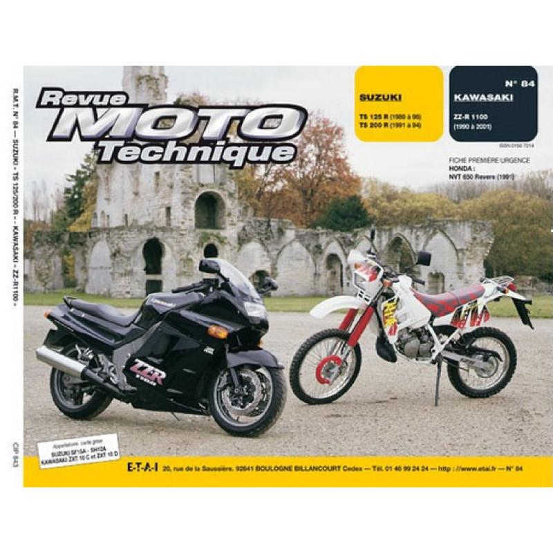 REVUE MOTO TECHNIQUE SUZUKI TS 125 et 200 de 1991 à 1996 - RMT 84 Librairie Automobile SPE 9782726891261