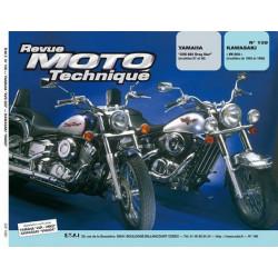 REVUE MOTO TECHNIQUE YAMAHA XVS 650 DRAGSTAR de 1997 et 1998 - RMT 109 Librairie Automobile SPE 9782726891438