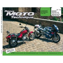 REVUE MOTO TECHNIQUE KAWASAKI BN 125 ELIMINATOR de 1998 - RMT 110 Librairie Automobile SPE 9782726891445