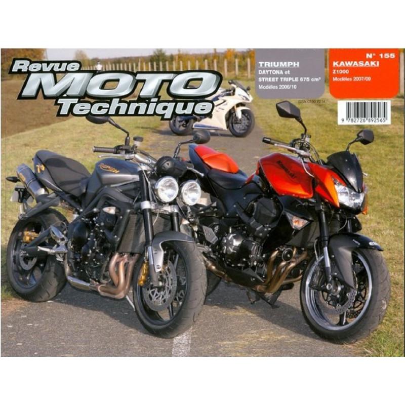 REVUE MOTO TECHNIQUE TRIUMPH SPEED TRIPLE 675 de 2006 et 2010 - RMT 155 Librairie Automobile SPE 9782726892565